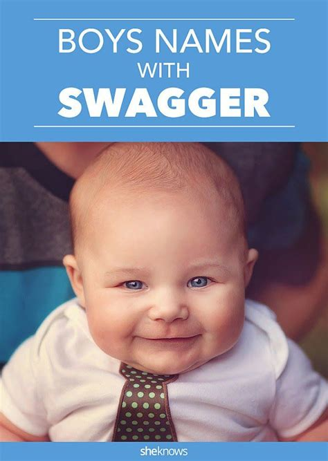 Baby Boy Names With Serious Swagger | baby boy names with serious swagger for your super cool