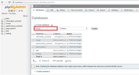 configure xp localhost localhost phpmyadmin setup phpsourcecode net