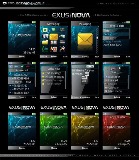 themes download software theme sony ericsson w980 free software free download