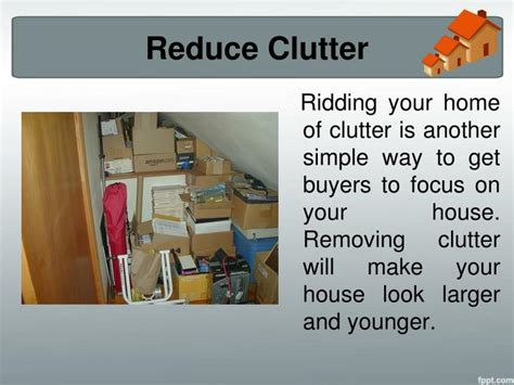 reducing clutter ppt home selling tips know how to stage your home for a