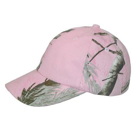 womens kati treestand pink camo baseball hat by ctm