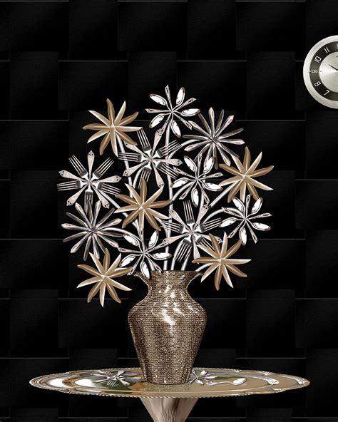 artistic flatware silverware bouquet digital by jerry gulbransen