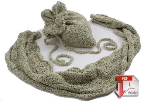 pattern for yarn bag bag and ruched scarf pattern download knitting pattern