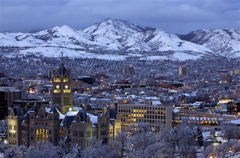 Family Travel and Skiing In and Around Salt Lake City Utah