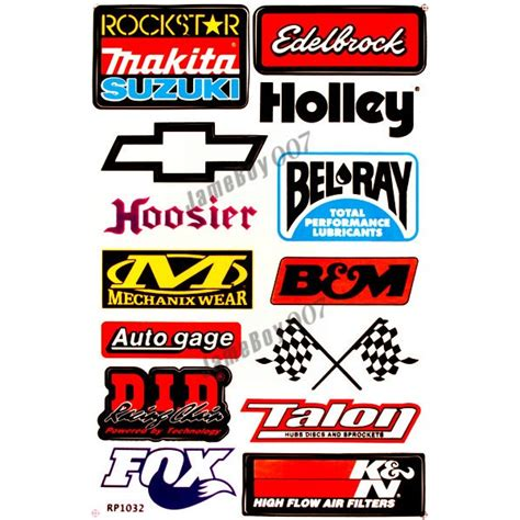 Rennsport Aufkleber by All Racing Products All Racing Products