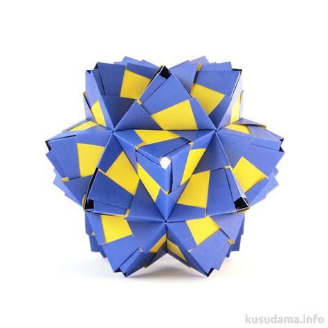 Modular Origami Polyhedra - polyhedra origami modular kusudama natalia romanenko