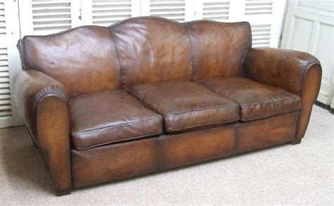 Club Leather Sofa Leather Club Sofa Sunpan Club Matisse Gold Leather Sofa With Pillows Free Thesofa
