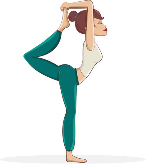 imagenes yoga vector woman doing yoga design vector set 10 vector people