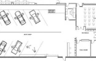 auto use floor plan automotive shop design decorbold