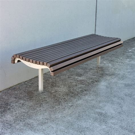 recycled bench seats park benches