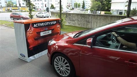 ford focus active city stop youtube