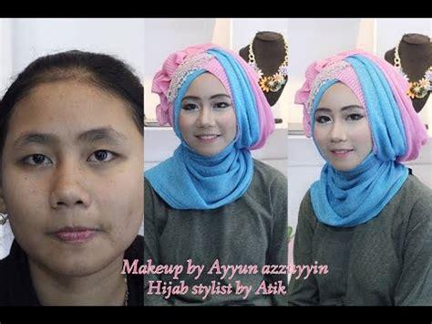tutorial alis wardah tutorial hijab wisuda wardah kumpulan hijab dan tutorial