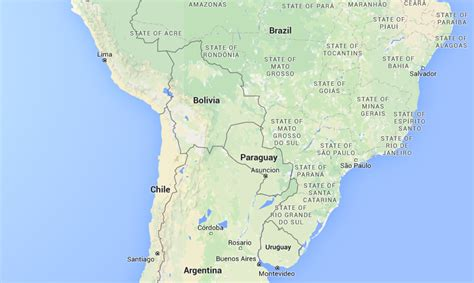 paraguay world map paraguay facts 40 interesting facts about paraguay the