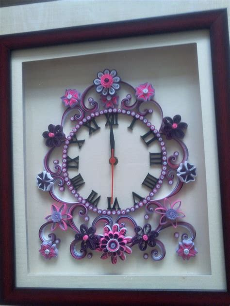 quilling clock tutorial 344 best quilling clocks images on pinterest quilling