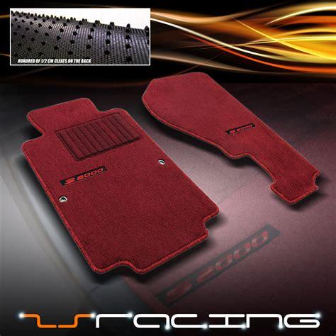 Honda S2000 Carpet 00 09 honda s2000 jdm extended floor mats carpet ebay