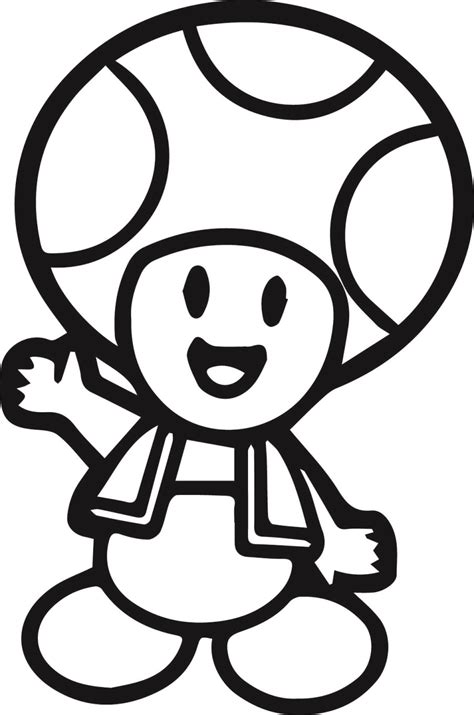 coloring pages mario toad toad coloring pages jacb me