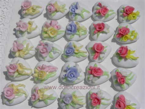 fiori in pasta di zucchero senza stini dolci creazioni by carla confetti decorati per matrimonio