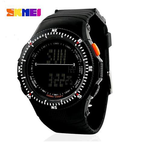 Diskon Skmei Sport 0989 Original Water Resistant 50m Black buy skmei 0989 black original wrist for