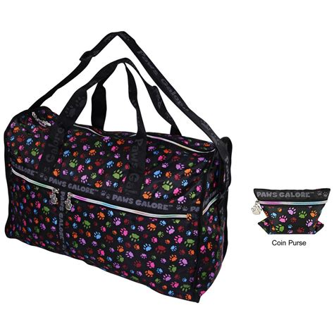 paws galore duffle bag the animal rescue site