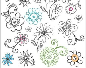 doodlebug clipart popular items for doodle clip on etsy