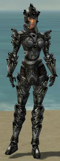 1427 Set Gw Grey Warriors Warrior Obsidian Armor Guildwars Wikia Fandom Powered