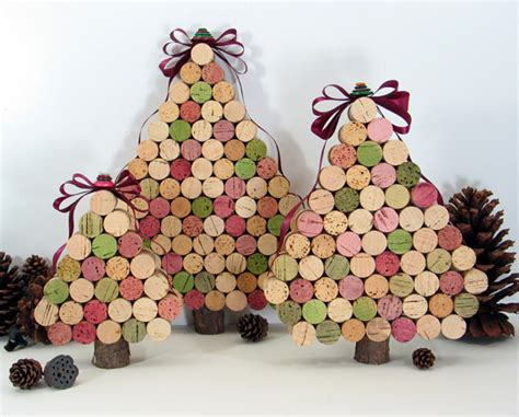 Rbol De Navidad Con Tapones De Corcho | 8 ideas para reciclar los corchos de las botellas de vino