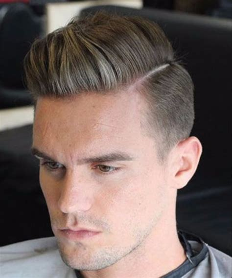 is there ever a cool comb over hard part comb over low fade haircut menhairstylist com