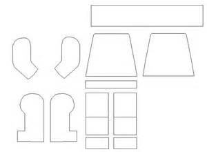 Lego Outline by Lego Minifigure Template Pictures To Pin On Pinsdaddy