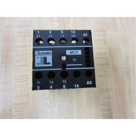 Mc9 C lovato mc9 c mc9c contactor used mara industrial