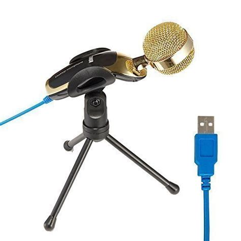 High Perfomance Studio Microphone Conference Meeting Clear Sound tonor usb clear digital sound professional condenser sound microphone with stand for skype pc