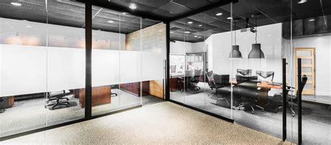 sliding glass walls operable partitions office front glass walls