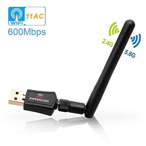 Adaptor Wifi Pc anewkodi 600mbps usb wifi adapter usb wireless adapter
