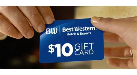 Best Gift Card Promos - latest best western promo a 10 gift card after every stay insideflyer