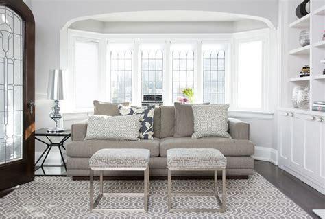 sofa for bay window sofa in bay window transitional living room stephani