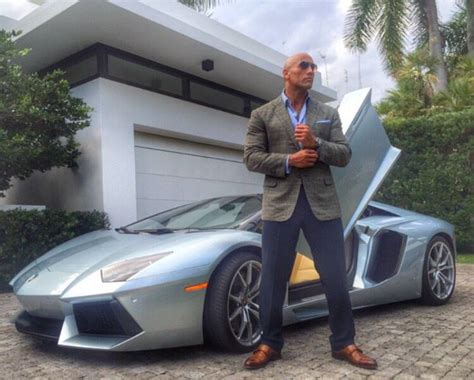 7 Cars For That Rock by Dwayne The Rock Johnson Is A Lamborghini Aventador Driver