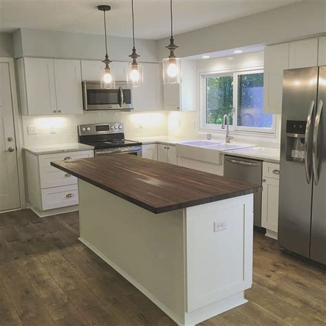 White Kitchen Island With Butcher Block Top The 25 Best Butcher Block Island Ideas On Pinterest Butcher Block Island Top Kitchen Island