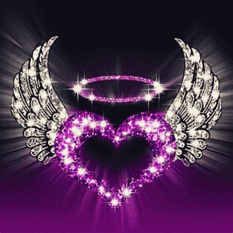 Best 25 All Things Purple Purple Hearts With Wings Www Pixshark Images Galleries With A Bite
