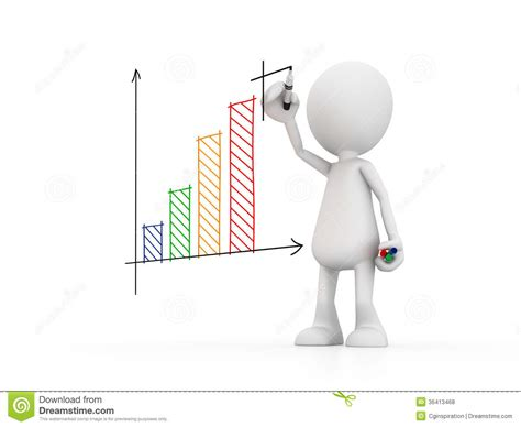 photos clipart drawing a graph stock illustration image of