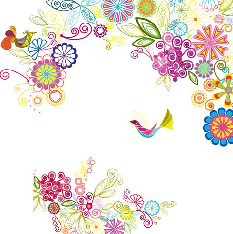 design art images colorful flower png my blog page 2