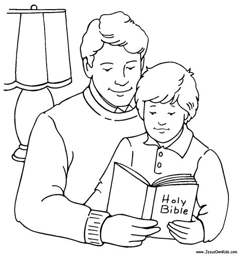 family reading coloring page children praying coloring pages bing images coloring