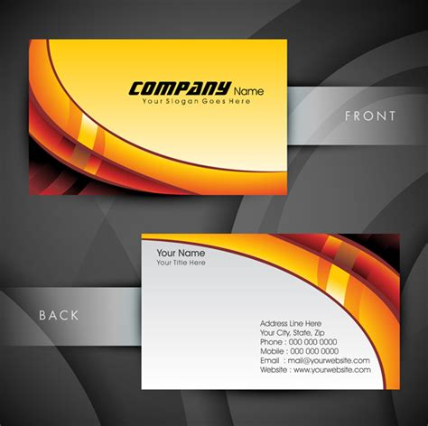 eps format visiting cards free download 19 free downloadable business card graphics images free