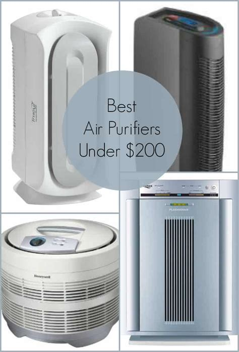 fight seasonal allergies with these best air purifiers for 200