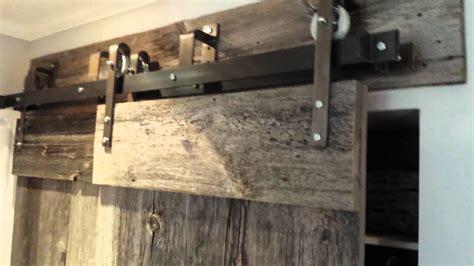 barn door hardware bypass rebarn s bypass barn door hardware