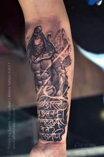 fury of lord shiva tattoo by sunny bhanushali at aliens