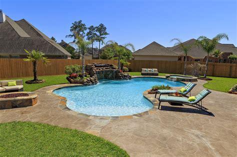 backyard san antonio swimming pool builder in texas anthony sylvan pools
