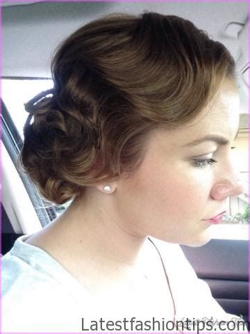 1920 Finger Wave Hairstyles by 1920 S Finger Wave Updo Latestfashiontips