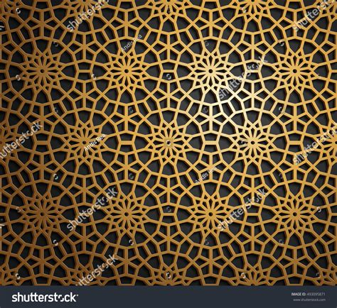 abstract islamic pattern islamic oriental pattern abstract vector ornament stock