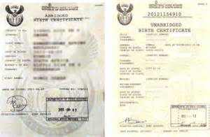South African Birth Certificate Template South Africans Travelling With Children Take Note Igo Travel