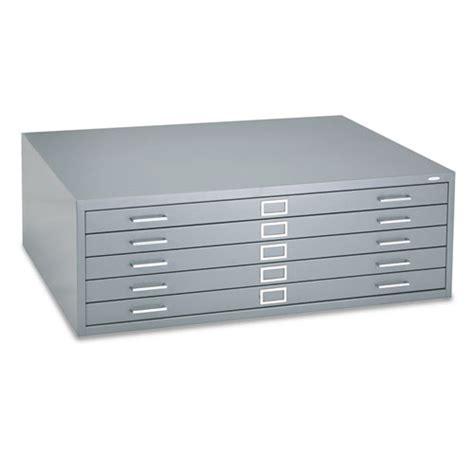 superwarehouse five drawer steel flat file 46 189 w x 35 189