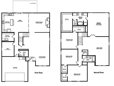empty nester house plans modern design empty nest house